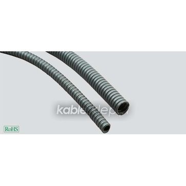 Węże elastyczne stalowe z powłoką PVC- SPR-PVC-AS